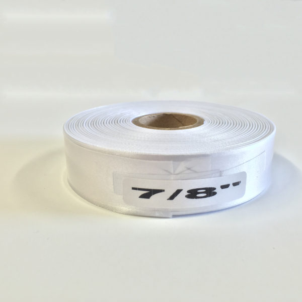 White Polyester 20mm x 50m