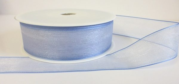 Baby Blue Organza Ribbon