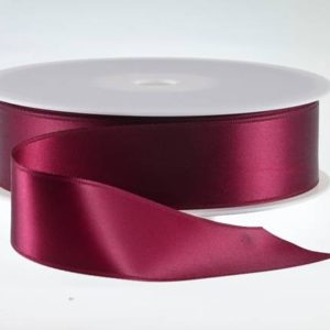 ( Col. 38 ) Claret Double Faced Satin