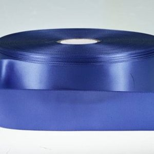 Dark Royal Single Faced Satin