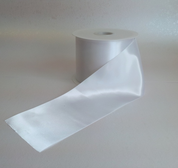 Ghost White Fiesta Ribbon