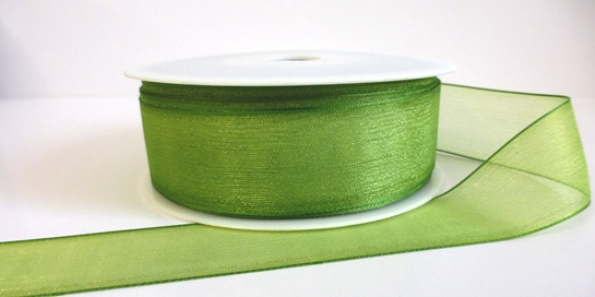 Green Organza Ribbon