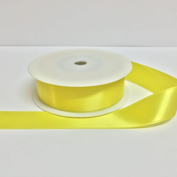 ( Col. 13 ) Bright Yellow Double Faced Satin