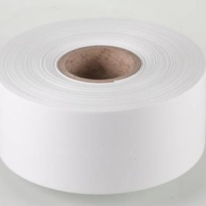 Iron on White Label Material 50mm x 25m