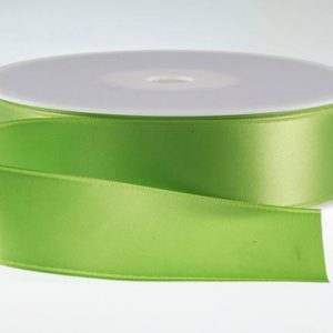 ( Col. 65 ) Kiwi Double Faced Satin