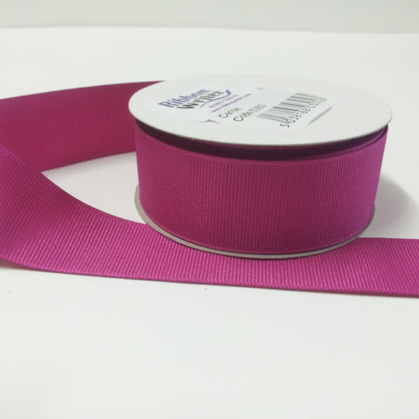 Luxury Cerise Grosgrain Ribbon (10m)