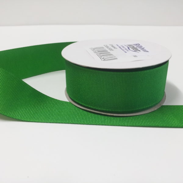 Luxury Emerald Grosgrain Ribbon (10m)