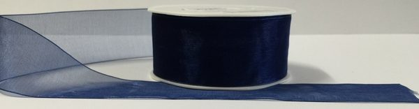 Luxury Royal Blue Organza Ribbon