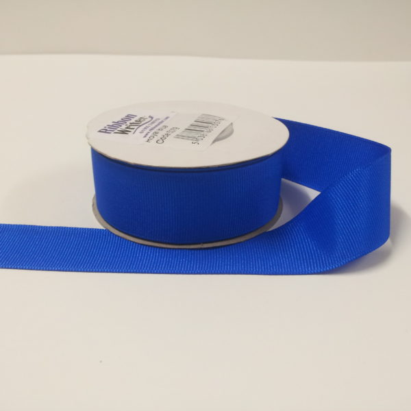 Luxury Royal Blue Grosgrain Ribbon (10m)