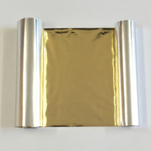 Transfer Foil Metallic Gold 110mm x 50m