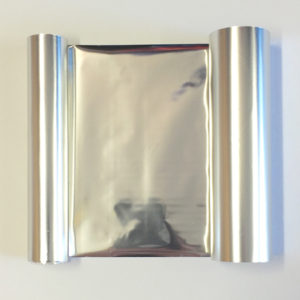 Transfer Foil Metallic Silver 110mm x 50m