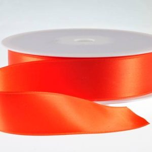 ( Col. 26 ) Orange Double Faced Satin