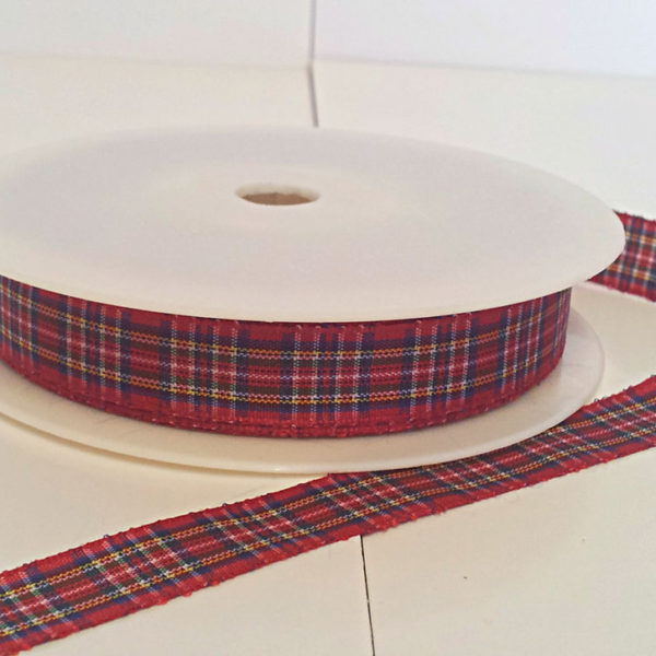 Royal Stewart Polyester Tartan 12mm x 25m