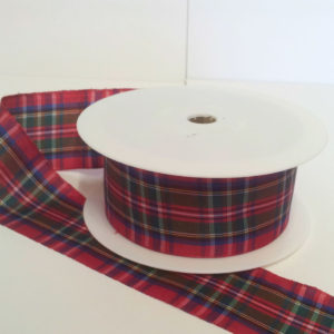 Royal Stewart Polyester Tartan 38mm x 25m