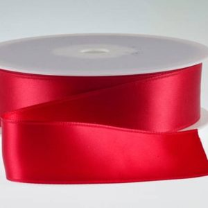 ( Col. 35 ) Scarlet Double Faced Satin
