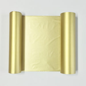 Water resistant Transfer Foil - Gold - 110mm x 50m