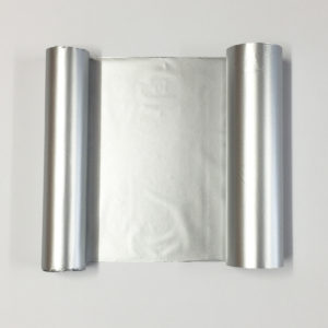 Water resistant Transfer Foil - Silver - 110mm x 50m