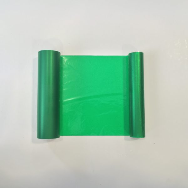 Water resistant Transfer Foil - Green - 110mm x 50m