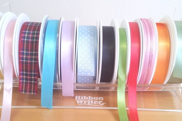 Ribbon Rack Clear 25cm x 12cm